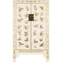 Decorated Classic Chinese Cabinet - White