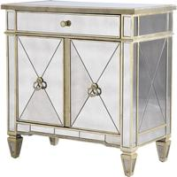 Venetian Mirrored Two Door Cabinet