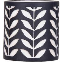 Tea-light with Leaf Design - Set of 4