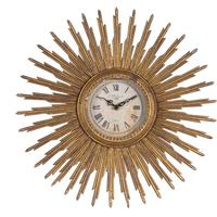 Antique Sunburst Clock