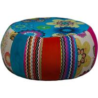 Large Patchwork Footstool