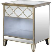 Eastern Panels Venetian Bedside Table