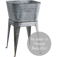 Galvanised Plant Stand