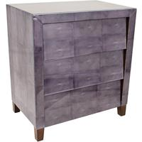 Grey Shagreen Chest of Drawers