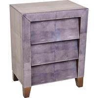 Shagreen Bedside Table by Out There Interiors