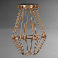 Calex Bulb Cage Antique Bronze