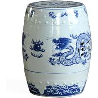 Dragon Ceramic Stool