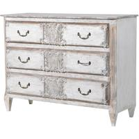 Distressed Six Drawer Chest