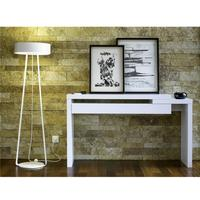 TemaHome Reef Console Table Contemporary Matt White Lacquer