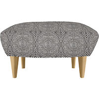 Content by Terence Conran Matador Footstool Kateri Charcoal