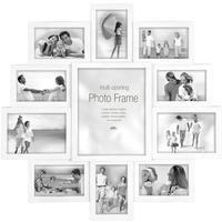 Maggiore XXI Multi Photo Frame - White by Red Candy