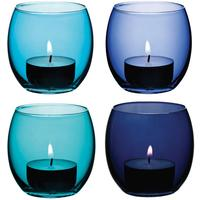 LSA Coro Tealight Holders - Lagoon by Red Candy