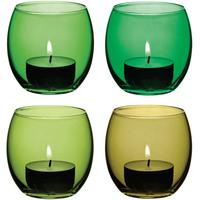 LSA Coro Tealight Holders - Leaf by Red Candy