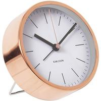 Karlsson Alarm Clock Minimal - White by Red Candy