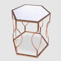 Hexagonal Bedside Table