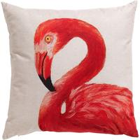 Flamingo Looking Left Cushion