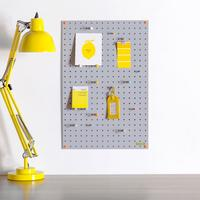 Block Medium PegBoard - Grey
