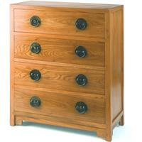 Ming Chest of Drawers in Light Elm