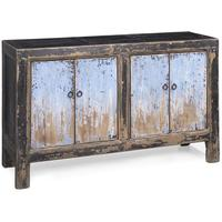 Sideboard in Blue & Black