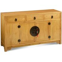 Ming Sideboard, Light Elm by Shimu