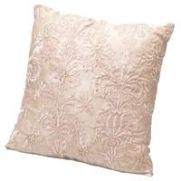 Beaded Cushion in Pink