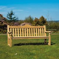 Roble Rose Garden Bench