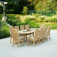 Roble Extending Garden Dining Table by Out There Interiors