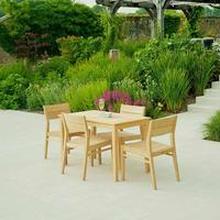 Roble Garden Side Chair