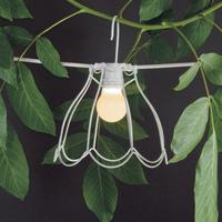 Wire Frame Bell Lampshade by Out There Interiors
