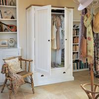 French Country Wardrobe With Drawer