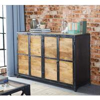 Vintage Up cycled Industrial Large Sideboard  by Verty furniture