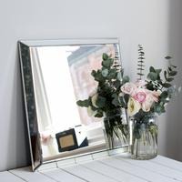 Square Plain Venetian Mirror