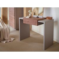 Marlow Modern Dressing Table - Matt Stone Lacquer