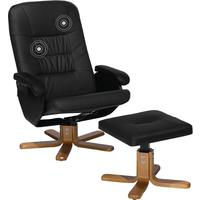Office chair with swivel and massage function
