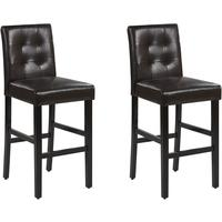 MADISON Set of 2 Bar Chairs by Beliani
