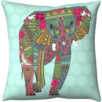 Abstract Elephant Cushion