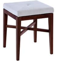 Lux Upholstered Stool by Gillmore Space