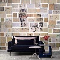 Biblioteca Wallpaper Mural 4 by Ekaterina Panikanova by The Orchard