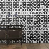 Obsession Frames Wallpaper Roll by Daniel Rozensztroch by The Orchard