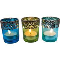 Present Time Moroccan Tea Light Set