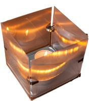 Shimmer Tea Light holder by Design My World