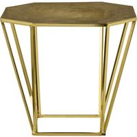Bloomingville Table with Brushed Gold Finish