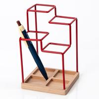 Block Sketch Desk Tidy - Red