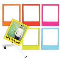 Pola Magnetic Photo Frames Multicolour 6 Pack