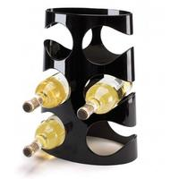 Umbra Grapevine Wine Rack 6 Bottles - Black
