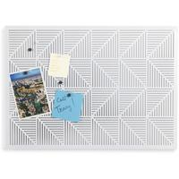 Umbra Trigon Bulletin Board - White by Red Candy