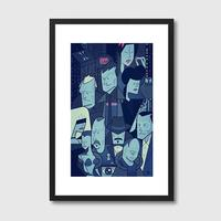 Blade Runner Quirky Framed Print
