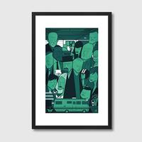 Breaking Bad Quirky Framed Print