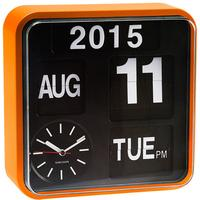 Karlsson Mini Flip Wall Clock - Orange