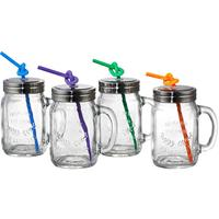 Oasis Tankard Jars - Set of 4